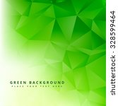 green polygonal abstract shape... | Shutterstock .eps vector #328599464
