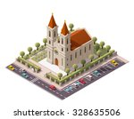 vector isometric icon or... | Shutterstock .eps vector #328635506
