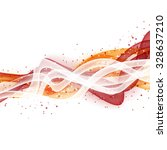 abstract wave modern layout... | Shutterstock .eps vector #328637210