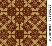 javanese batik seamless pattern ... | Shutterstock .eps vector #328640213