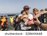 lesbos  greece  oktober 11 2015 ...   Shutterstock . vector #328644668