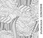 tracery seamless calming... | Shutterstock .eps vector #328650848