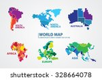 world map | Shutterstock .eps vector #328664078