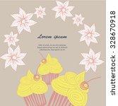 frame vector background of... | Shutterstock .eps vector #328670918