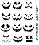 vector collection of spooky... | Shutterstock .eps vector #328678244