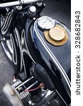 Old Motorcycle Detail