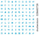 credit 100 icons universal set... | Shutterstock . vector #328683728