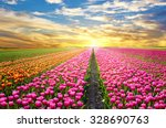 a magical landscape with... | Shutterstock . vector #328690763