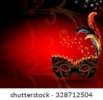 the red vector background... | Shutterstock .eps vector #328712504