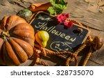 halloween background | Shutterstock . vector #328735070