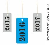 year 2016 tag with previous and ... | Shutterstock .eps vector #328792070