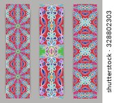 multicolored set of vertical... | Shutterstock .eps vector #328802303