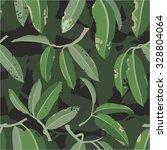 tropical seamless vector pattern | Shutterstock .eps vector #328804064