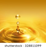 bright dripping oil close up as ... | Shutterstock . vector #328811099