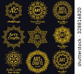 oriental high quality logo... | Shutterstock .eps vector #328816820