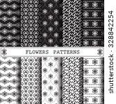 flower vector pattern pattern... | Shutterstock .eps vector #328842254