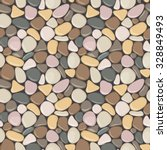 Seamless Pattern With Stones....