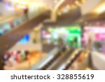 blurred photo of department... | Shutterstock . vector #328855619