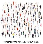 standing together together we... | Shutterstock . vector #328865456