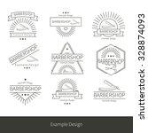 hairdresser's tools vector can... | Shutterstock .eps vector #328874093