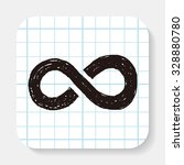 unlimited doodle | Shutterstock .eps vector #328880780