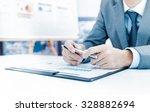 businessman analyzing... | Shutterstock . vector #328882694