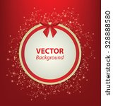 red greeting card template.... | Shutterstock .eps vector #328888580