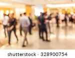 blurred people in grand opening ... | Shutterstock . vector #328900754
