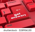 a keyboard with a key reading... | Shutterstock . vector #328906130