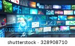 digital multimedia... | Shutterstock . vector #328908710