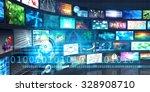 digital multimedia... | Shutterstock . vector #328908710