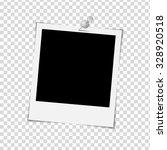 photo frame on white background ... | Shutterstock . vector #328920518