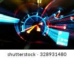 Blur Light Of Speed Gauge.