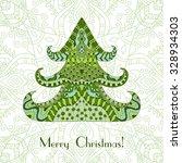 Color Christmas Tree. Christma...
