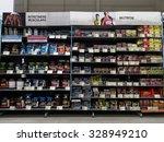 bucharest  romania   october 17 ... | Shutterstock . vector #328949210