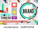 branding marketing advertising... | Shutterstock . vector #328955954