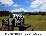 Letterbox Cow
