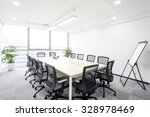 Interior Of Meeting Room In...