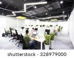 interior of moder office | Shutterstock . vector #328979000