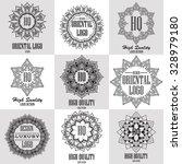 oriental high quality logo... | Shutterstock .eps vector #328979180