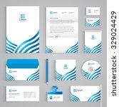 corporate identity branding...   Shutterstock .eps vector #329024429