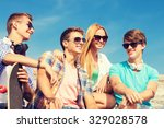 friendship  leisure  summer and ... | Shutterstock . vector #329028578