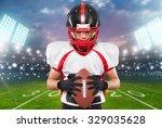 american football. | Shutterstock . vector #329035628