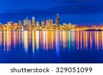 Scenic View Of Seattle Skylines ...
