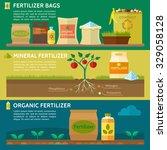 agriculture  fertilizer bag ... | Shutterstock .eps vector #329058128