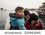 kos  greece   october 17  2015... | Shutterstock . vector #329062040