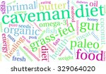 caveman diet word cloud on a... | Shutterstock .eps vector #329064020