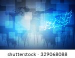 2d business graph background | Shutterstock . vector #329068088