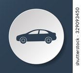 car icon.car icon. flat design... | Shutterstock . vector #329093450