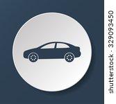 car icon.car icon. flat design... | Shutterstock . vector #329093450